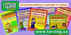 Таблиці та схеми для молодшої школи. Російська мова для учнів початкових класів Торсінг Україна купити