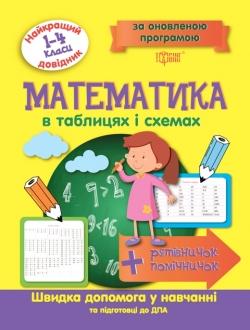 Купить Математика в таблицах и схемах 1-4 классы. Лучший справочник Торсинг Украина