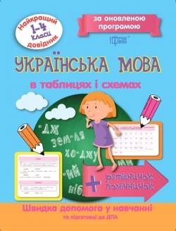 Купить Украинский язык в таблицах и схемах 1-4 классы. Лучший справочник Торсинг Украина