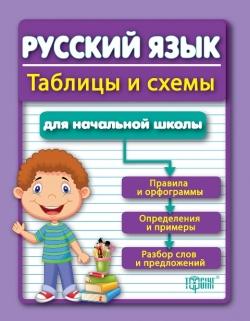 Таблицы и схемы для младшей школы. Русский язык для учеников начальных классов торсинг украина купить