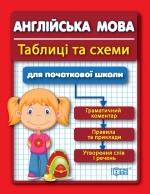Таблиці та схеми для молодшої школи. Англійська мова для учнів початкових класів