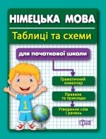 Таблиці та схеми для молодшої школи. Німецька мова для учнів початкових класів